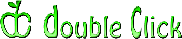 Lime-colored Double Click logo.png