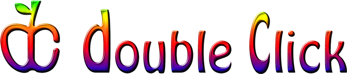 Retro-colored Double Click logo.png
