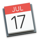 icon of iCal (calendar) app